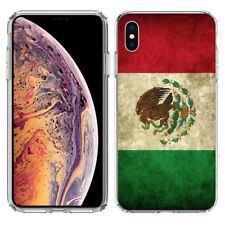 For Apple iPhone Xs Mexico Flag Hard Cover Case Phone Protector