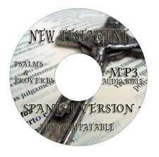Spanish New Testament MP3 Audio Bible on CD Espanol-iPod iPhone Droid Compatible