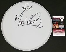 """MAX WEINBERG SIGNED 12"""" REMO DRUMHEAD W/JSA CERT BRUCE SPRINGSTEEN"""