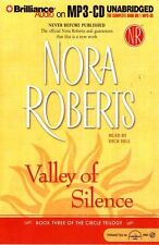 Nora ROBERTS / VALLEY of SILENCE [Circle Trilogy: Bk 03]       [ Audiobook ]