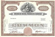 AMERICAN METAL PRODUCTS COMPANY....ABN
