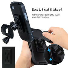 Motorcycle Bike Bicycle Handlebar Mount Holder Case For iPhone XS XR X 8 7 6