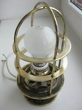 Antique 1900 Brass Russian Imperial SHIP/BOAT  LANTERN Saint-Peterburg