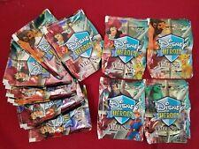 brand new Packs Panini heroes y Villanos, 4 Stamps + Pog