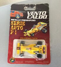 1985 VINTAGE SOMA #FORMULA 1 F1 INDY RACE 1 :64 Scale # VENTO CALDO LITARDI