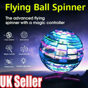 Pro Flying Ball Space Orb Mini Drone UFO Boomerang Boy Girl Toy Gifts UK