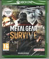 Metal Gear Survive (includes Survival Pack DLC) 'New & Sealed' *XBOX ONE*