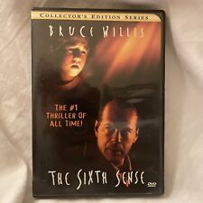 The Sixth Sense (Dvd, 2000, Collectors Series) Bruce Willis