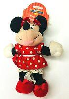 "Disney Minnie Mouse Plush Buddy Keychain #24244 Kids Collect Vintage NWT 6""x5"""