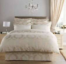 Christy Romeo Calico Double Bed Duvet Cover Set RRP £200 - Split Pack