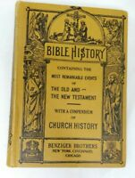 1924 Bible History The Most Important Events of The Old And New Testament