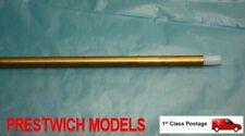 Tubo de latón de repuesto y forro de teflón para 4mm Eje RC Brushless barco Relleno