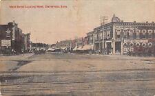 Cherryvale KS Richart-McDonald Loans~Squier (Squire?) Frank Drugs~RR Xing c1910