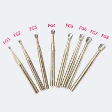 Dental Carbide Bur Drill FG1/2/3/4/5/6/7/8 Tungsten Round High Speed Handpiece