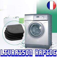 4 pcs Machine À Laver Anti Vibration Choc Antidérapant Pied Tapis Réfrigérateur