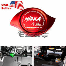 Red Billet Aluminum Radiator Protector Pressure Cap Cover Car High Performance
