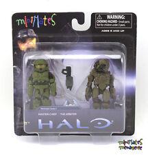 Halo Minimates TRU Toys R Us Wave 1 Master Chief & The Arbiter