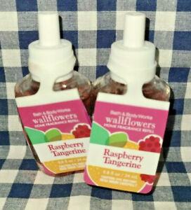 2-Pack Raspberry Tangerine Wallflower Refill Bulbs 0.8 oz Bath & Body Works