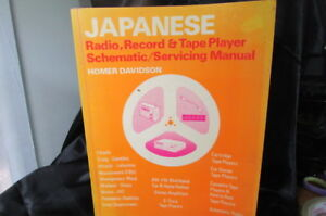 JAPANESE RADIO, RECORD & TAPE PLAYER SCHEMATIC / SERVICING MANUAL 1973