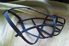 Amstaff Leather Muzzle