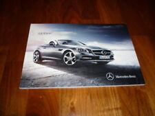 Mercedes Benz SLK Prospekt 03/2011