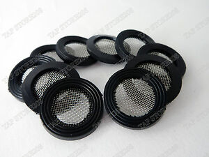 "3/4"" Shower Filter  Rubber Washer x 10 For Bathroom Shower Tap"