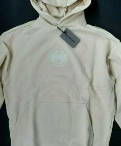 BALENCIAGA Men Sweatshirt with hoodi embroidered logo
