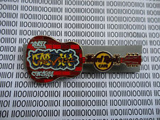 Hard Rock Cafe Cardiff 2007 - Graffiti Guitar Serie,s Pin LE100