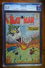 Batman #136 (1960) CGC 3.5 DC Comic   Joker and Bat-Mite App Silver Age
