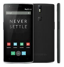 Oneplus One 64GB Sandstone  Black Pre-owned with scratches + 3 Months  Warranty
