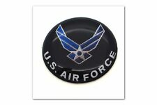"1 Premium ""USAF"" Automotive Grade Glossy Domed Decal Sticker Emblem 7/8 inch"