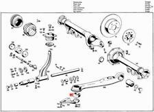 Genuine MERCEDES Trailing Arm Bushing W108 W109 W111 W112 W110 1103521065