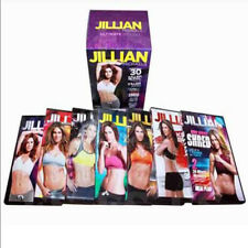 JILLIAN MICHAELS ULTIMATE BOXSET 7 DVDS BRAND NEW
