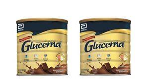 2 x Abbott Glucerna Triple Care Diabetics Milk (850g)Chocolate FREE Express Ship