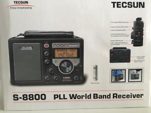 TECSUN S-8800 Metal Récepteur HF Ssb Portable Avec Télécommande 330013