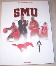 2007-08 SMU MUSTANGS Men's Basketball Media Guide