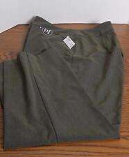 Dress Barn Tummy Control Trouser Leg Pants Women's Size 24W Average Length NWT