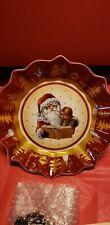 "Villeroy & Boch Toy's Fantasy Santa Christmas 9""  Serving Bowl"