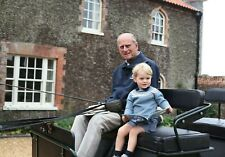Prince Philip Duke of Edinburgh, Prince George 5x7 Gloss Colour Photograph (1)