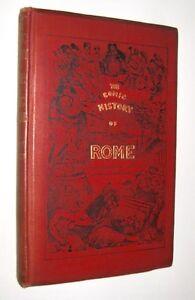 Illus. John Leech A'Beckett The Comic History of Rome  Illus Early ed 1880