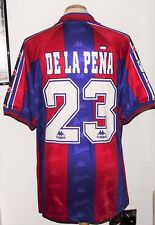 Camisa Vintage Barcelona 1996 Kappa los jugadores de la pena XL España Camiseta