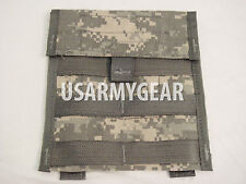 Lot of 2 US Army Military ACU Molle II Admin Utility Map Admin Pouch