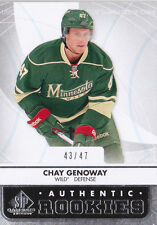 12-13 SP Game Used Chay Genoway /47 Rookie True RC Wild 2012