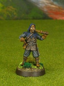 PRO PAINTED REAPER MINIATURES D&D DUNGEONS & DRAGONS BANDIT THIEF ROGUE
