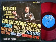LES MCCANN Soul Hits LP PACIFIC JAZZ PJ-78 US 1963 Paul Chambers AUTOGRAPHED