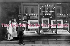 LA 710 - Fairley Picture Framers Shop, Burnley, Lancashire - 6x4 Photo