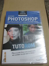 TUTOROM  Formation Photoshop CS5 : Retouche et Colorimétrie neuf sur CD