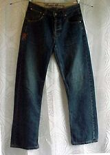 """English Laundry Blue Jeans """"El Crest"""" Button Fly Straight leg Size 31 X 31"""