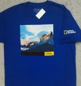 National Geographic T Shirt _ Sizes Medium, Large, XL, 2XL, 3XL