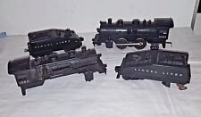 4 PC LOT O SCALE LIONEL TRAIN CARS 1061 ENGINE 1060 SHELL & LIONEL LINES TENDERS
